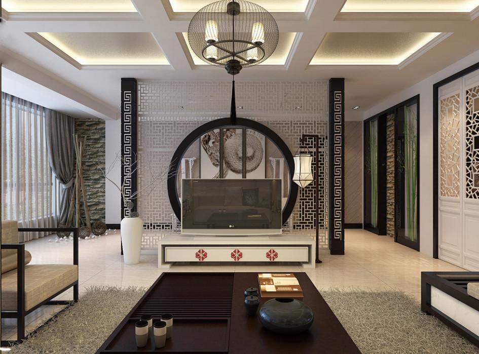 Desain interior dengan konsep oriental interiorudayana14 - Oriental style bedroom furniture ...