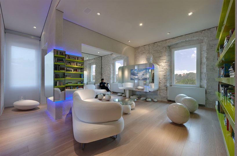 Konsep Desain Interior Futuristik Interiorudayana14
